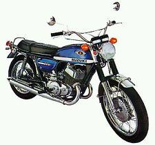 SUZUKI T500 T500  TITAN 1970 MODEL TANK PAINTWORK DECAL KIT