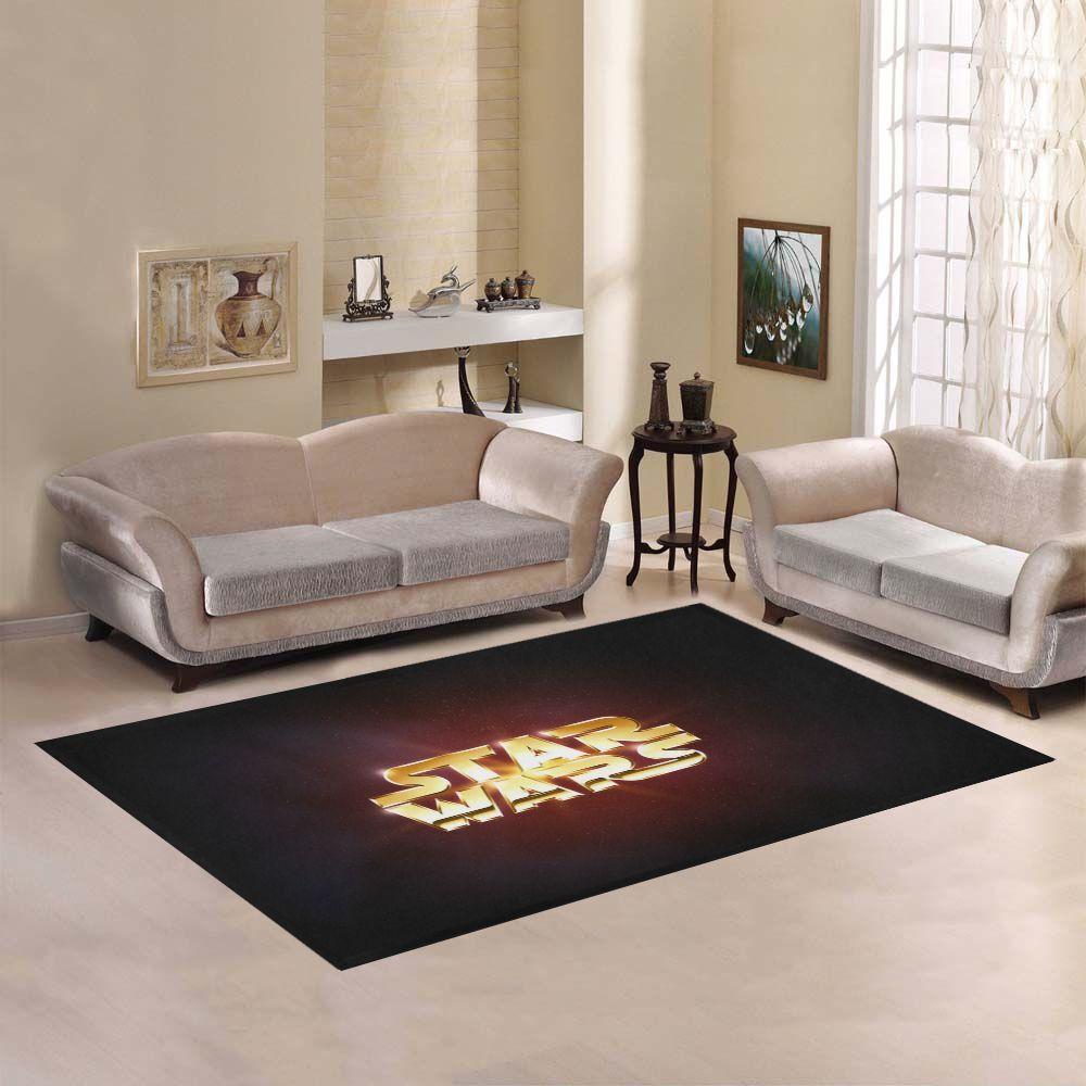 SWEET HOME logo personalizzato Star Wars Dark Film Area Tappeto Tappeto 5'x3'3''