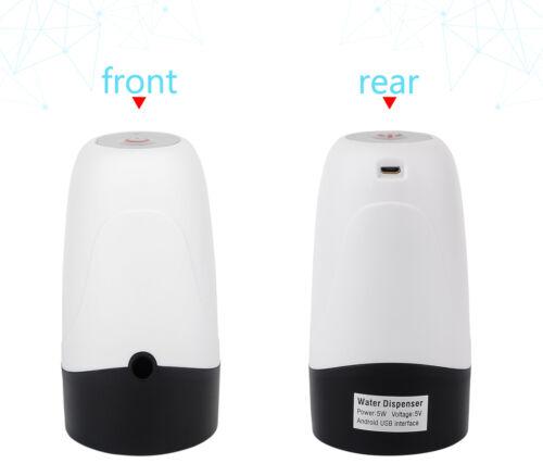 5 Gallon USB Water Bottle Jug Dispenser Automatic Electric Switch Pump Universal