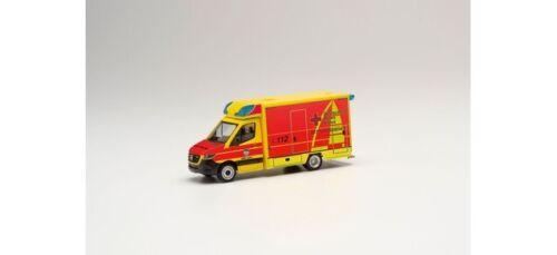 """Herpa 095440-1//87 Mercedes-Benz Sprinter 18 fahrtec-RTW /""""rdc Juist/"""" nuevo"""