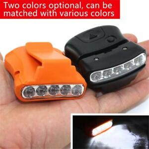 5LED-Cap-Hat-Brim-Clip-Lamp-Head-Light-Headlight-Headlamp-Camping-Hiking-Fishing