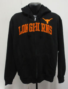 a16f936261db5 TEXAS LONGHORNS UT HOODIE HOODY SWEATSHIRT NCAA HOOK EM STITCH MENS ...