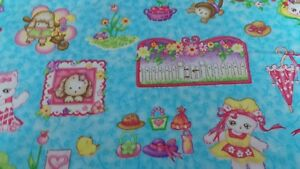 100/% cotton fabric all difference colourp flowers price per fat quarter 22x18ins