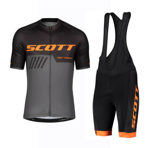 2020 Men Cycling Short Sleeve Jersey Bib Shorts Set Summer Quickdry Bike Uniform