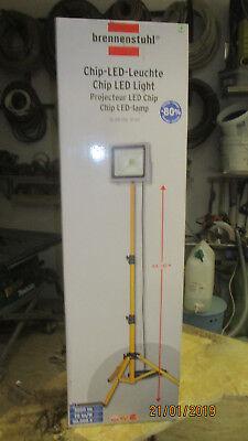 Baustrahler SL CN 150 50W 5m IP65 Brennenstuhl Stativ Chip LED Bauleuchte