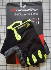 Bellwether Gel Supreme Men/'s Short Finger Cycling Glove Black Medium