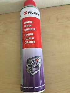 Wurth Diesel Injector Cleaner >> WURTH ENGINE FLUSH AND CLEANER 400ML FOR PETROL AND DIESEL ENGINES | eBay