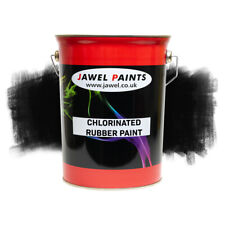 Chlorinated Rubber Paint For Swimming Pools And Ponds 5LT Black