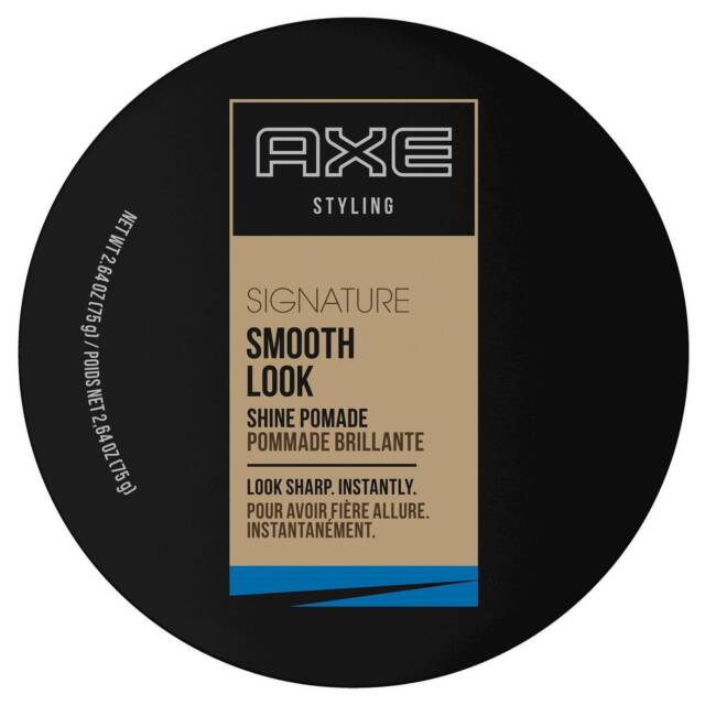 Axe Styling Singature Smooth Look Shine Pomade 2.64 oz 7920