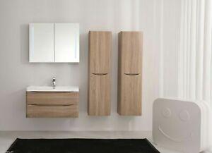 Waschtisch-Smile-90-Eiche-hell-Badezimmermobel-Set-Waschbecken-Unterschrank