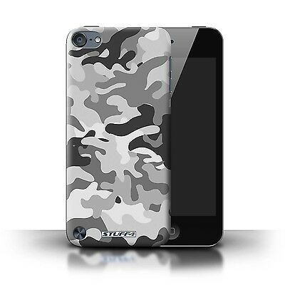 Cell Phone Accessories Stuff4 Case/cover For Apple Ipod Touch 5/camouflage Army Navy/white 1 Extremely Efficient In Preserving Heat