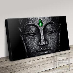 EMERALD BUDDHA FOR PROSPERITY & ABUNDANCE CANVAS ART PRINT PICTURE Art Williams