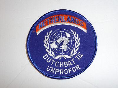 b3871 United Nations UN Netherlands Dutchbat III Unprofor patch Bosnia R2A