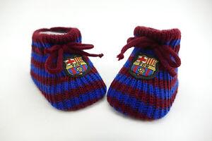 Baby-Soeckchen-Schuhe-FC-Barcelona-Alter-Groesse-0-3-Monate
