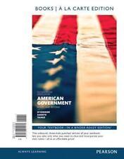 American Government, 2014 Elections and Updates Edition, Books A La Carte Editio