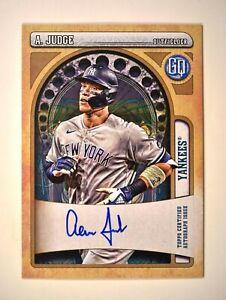 2021 Topps Gypsy Queen Base Auto #AJ Aaron Judge - New York Yankees