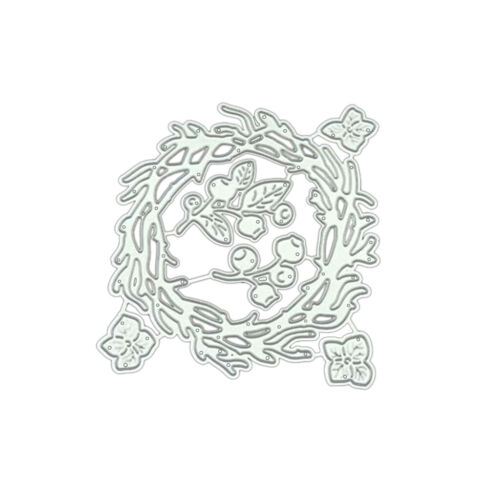 Flower Circle Metal Cutting Dies Stencil Scrapbooking Photo Album Card Craft DIY