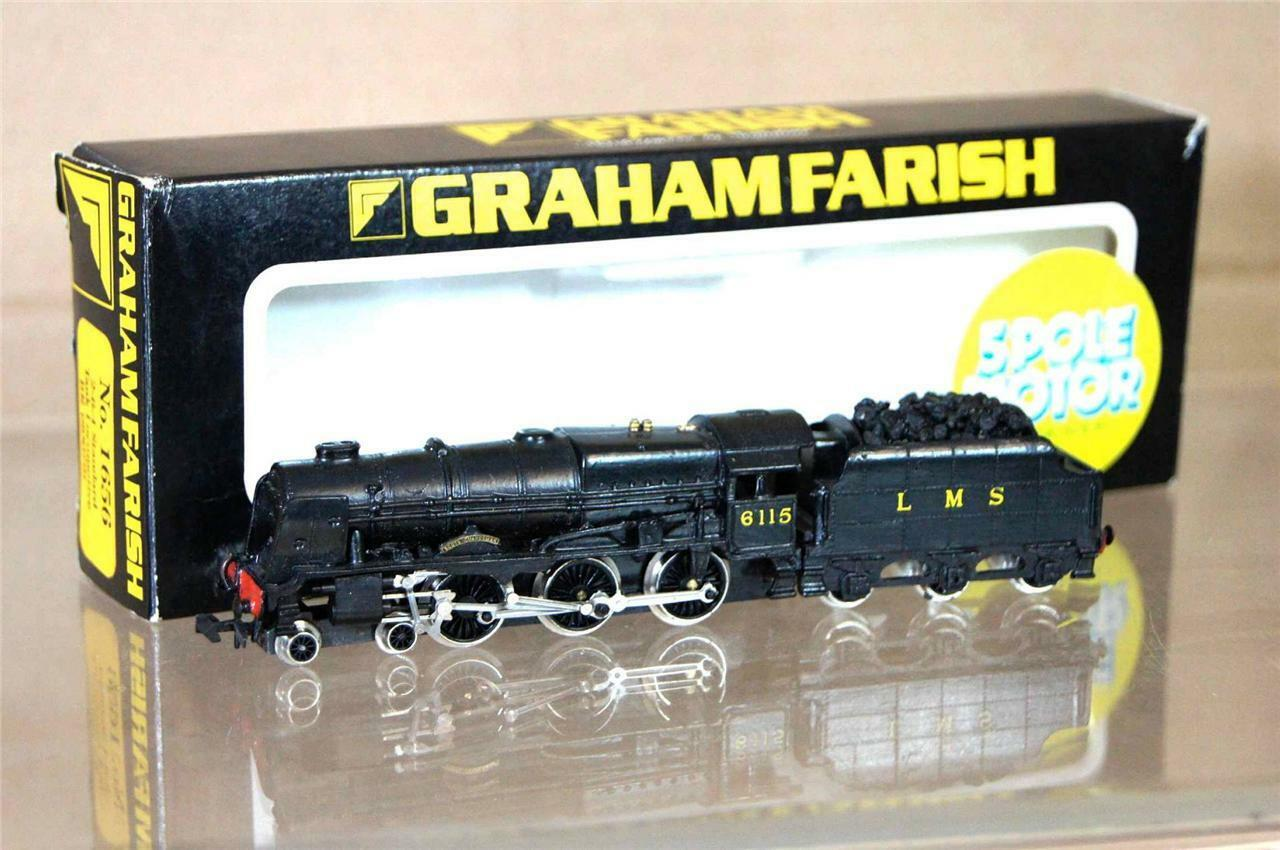 GRAHAM FARISH 1656 LANGLEY KIT BUILT LMS 4-6-0 LOCO 6115 SCOTS GUARDSMAN mz