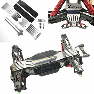 Stainless Steel Chassis Armor Skid Plate Full Protect For Traxxas X-MAXX 6S /& 8S