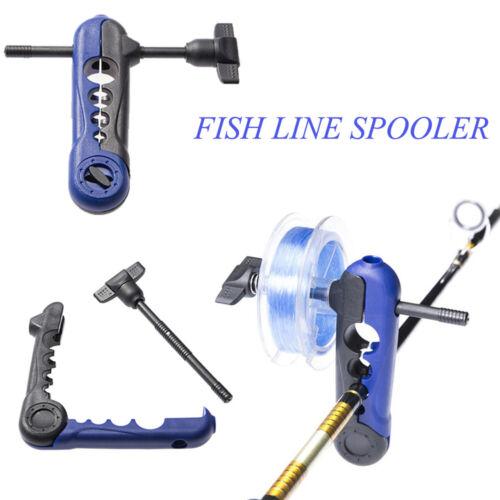 Universal Fishing Line Spooler Rod Bobbin Reel Winder Board Spool Line Wrapper.//
