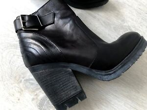Plateau Stiefelette Via Gr Luxury Wintersohle 39 Boots Studio Italy 6 Echtleder qXXatA6HSw