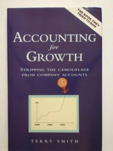 Accounting For Growth: Stripping the Camouflage From Company A ..9780712657648