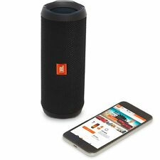 JBL Flip 4 WaterProof Portable Bluetooth Speaker (Black). NEW!! 12hrs Play-time
