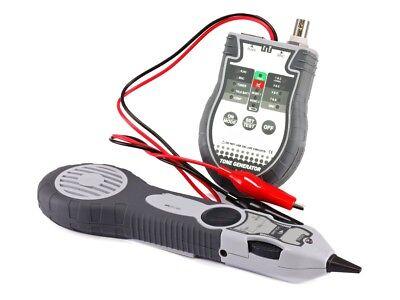 Tracer//Toner//Cable Tester Tool Kit RJ45 RJ11 BNC and Speaker Wire Tone Generator