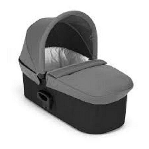 Free Shipping! Baby Jogger Deluxe Pram Bassinet New Grey