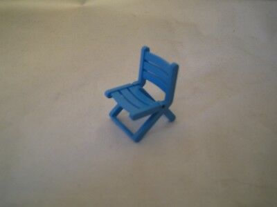 Playmobil blauer Klappstuhl Strandstuhl Gartenstuhl