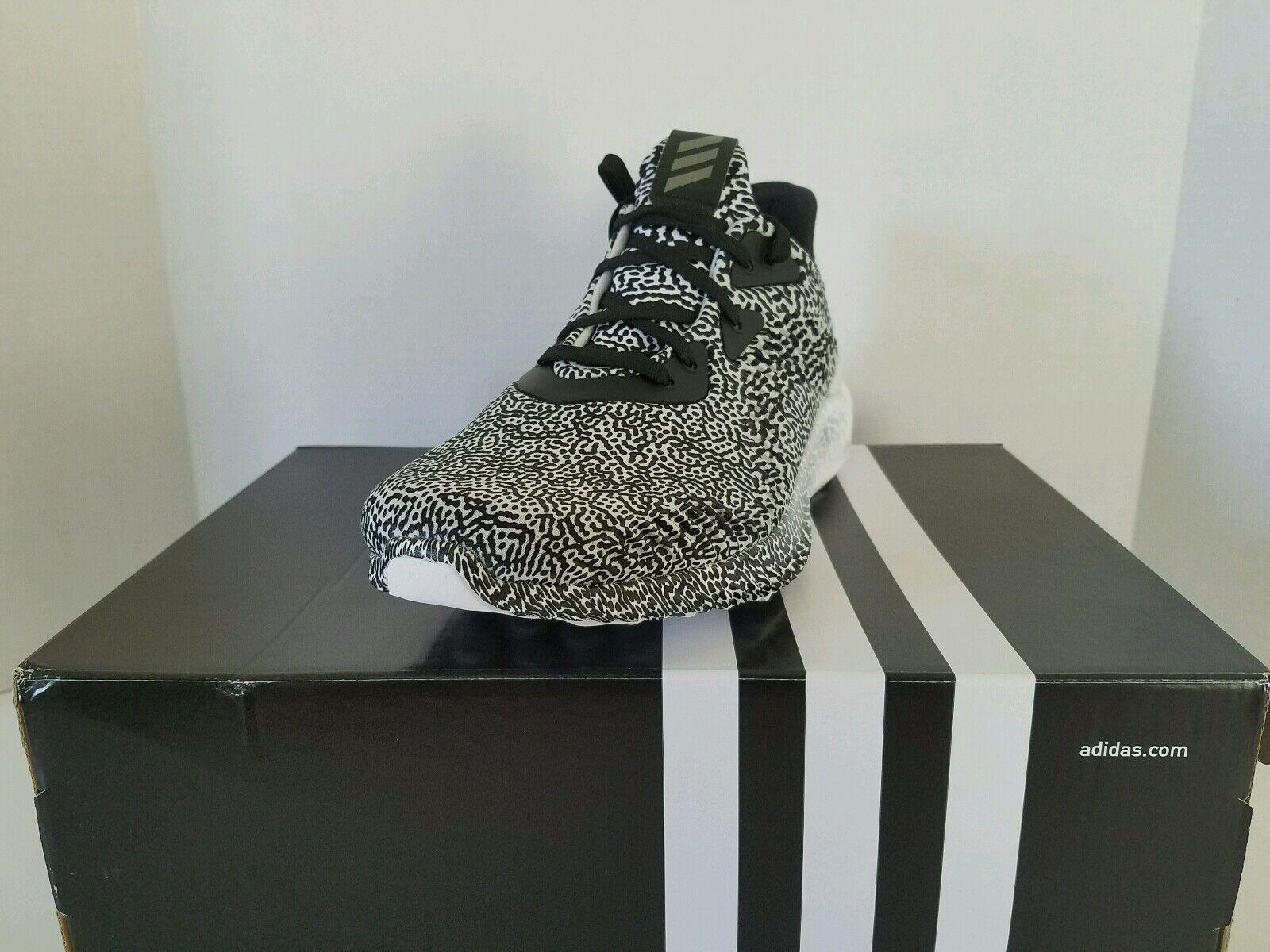 adidas alphabounce m aramis b54366 alpha - weiß sprung - schwarz / weiß - - mens größen b04f6e