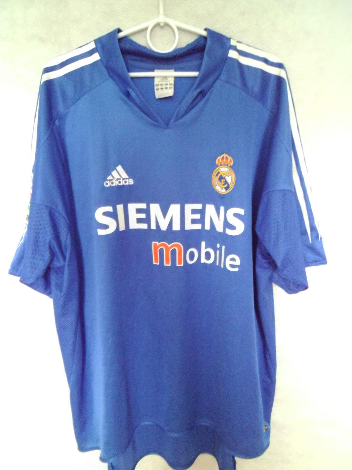 MEGA RARE    2004-05 Real Madrid Third Shirt Jersey XL