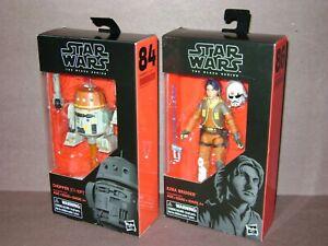 Star Wars Black Series Rebels NEW Figure Lot #84 CHOPPER and #86 EZRA BRIDGER