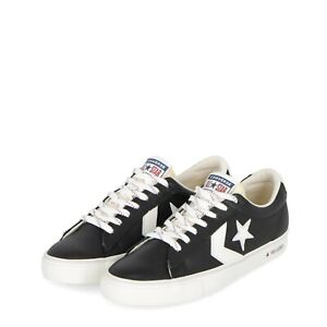 Converse-Pro-leather-in-pelle-nere-stella-bianca-sneakers-uomo-2019