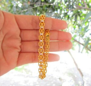 .77 Carat Diamond Yellow Gold Bracelet 14k codeBx09 sepvergara