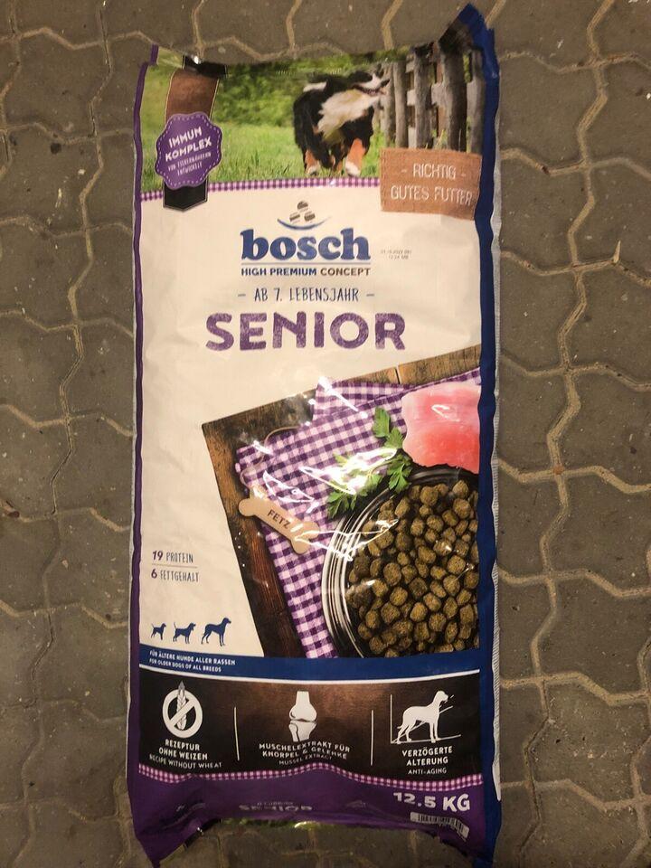 Hundefoder, Bosh Senior 24,5 kg. !!
