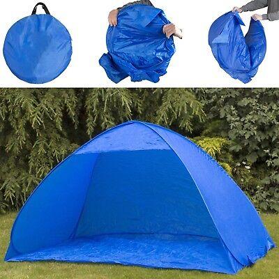 NEW Pop Up 2 Man Beach Camping Festival Fishing Garden Kids Tent Sun Shelter