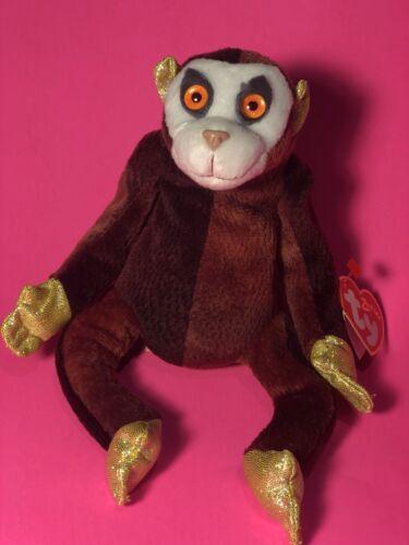Ty Beanie Baby MONKEY the Zodiac Monkey