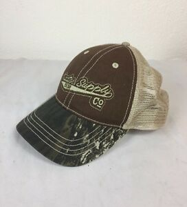 05daf5fd713 Image is loading TRACTOR-SUPPLY-COMPANY-CAMO-100-COTTON-BASEBALL-CAP-