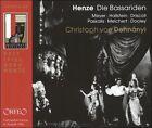 Hans Werner Henze: Die Bassariden (CD, Jul-2003, 2 Discs, Orfeo)