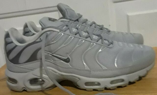 Nike Air Max Plus Tn 852630 006 Wolf Grey Running Mens. Size 10