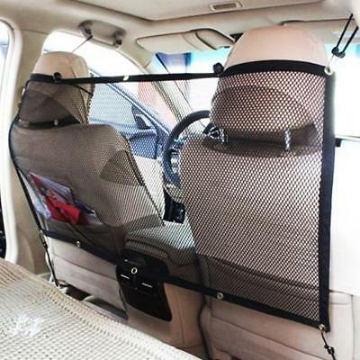 Pet Dog Cat Car Van Safety Isolation Net Guard Front Back Seat Barrier Mesh Hot