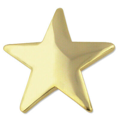 Gold Star Lapel Pins 30 Pack Crown Awards Gold Star Pins