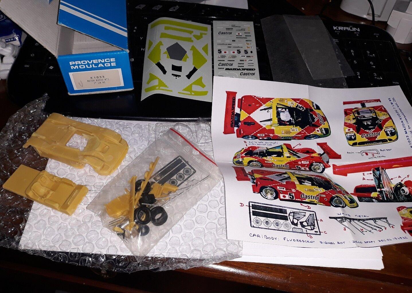Provence Moulage 1 43 Mazda Kudzu  5 Le Mans 1995 Resin Kit