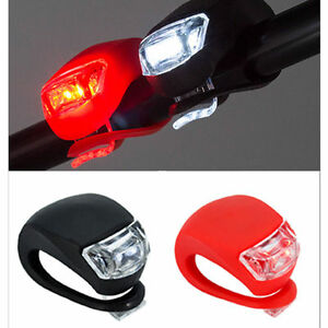 Black-Silicone-Bike-Bicycle-Cycling-Head-Front-Rear-Wheel-LED-Flash-Light-Lamp-k