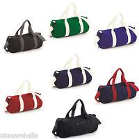 Bagbase Varsity Original Barrel Holdall in 7 Colours Ideal Gym Travel Bag -BG140