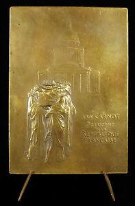 100% Vrai Médaille Funérailles De Sadi Carnot 1894 Sc Oscar Roty Deuil De La Patrie Medal