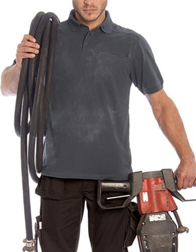 Uomo skill Pro Polo//lavabile fino a 60 ° Cb/& C Pro Collection
