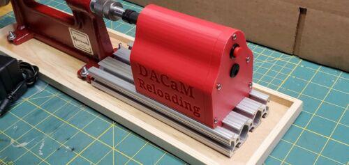 DACaM Power Pod MK2 trimmer system for Hornady Cam Lock Trimmers NEWLY ENHANCED!