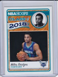 2018-19-NBA-Hoops-Class-Of-2018-Miles-Bridges-Charlotte-Hornets